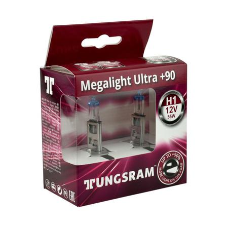 Żarówka H1 Tungsram MegaLight Ultra Plus 90%  2szt