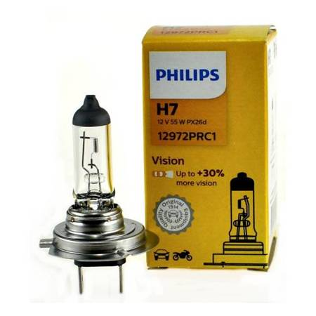 Żarówka H7 Philips VisionPlus +30% - 1szt
