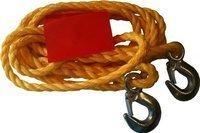 Linka holownicza sznur z hakami 3000 kg