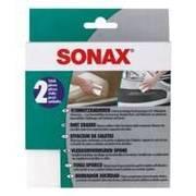 Sonax gąbka czyszcząca do plastików we wnętrzu