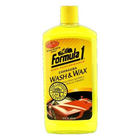 Formula 1 Wash&Wax szampon samochodowy z woskiem 473ml