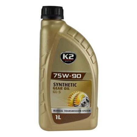 K2 Matic syntetyczny olej przekładniowy 75W/90 GL-5 1L