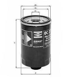 Knecht filtr oleju OC262 -  VW/Seat 1,9 TDi ->97 Toledo 1,9TDi 96->