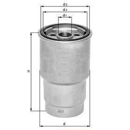 Knecht filtr paliwa KL179 - DB C-W203/C203/T203 OM611/612, 00-, CLK-A/C209 OM612, G-W463, M-W16