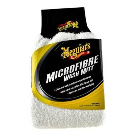 Meguiars Microfiber Wash Mitt - Rękawica z mikrofibry do mycia samochodu