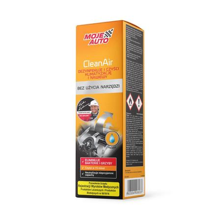 Moje Auto CleanAir odświeżacz klimatyzacji i nawiewów 150ml