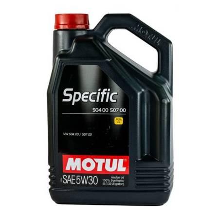 Olej silnikowy Motul Specific 504.00/507.00 5W/30 5L