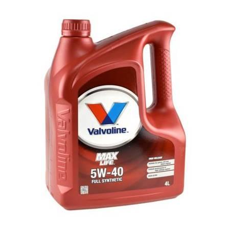 Olej silnikowy Valvoline MaxLife 5W/40 4L