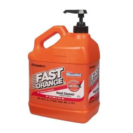 Permatex Fast Orange - emulsja z pompką do mycia zabrudzonych rąk 3,78L